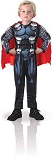 Avengers - Disfraz de Thor Deluxe para niño, 3-4 años (Rubie's 610736-S)