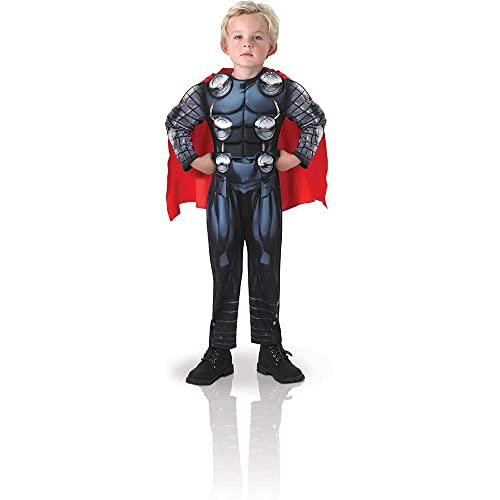 271baf9ab2c8 Rubie's Official Deluxe Thor + Hammer Boys Fancy Dress The Avengers  Superhero Kids Childs Costume
