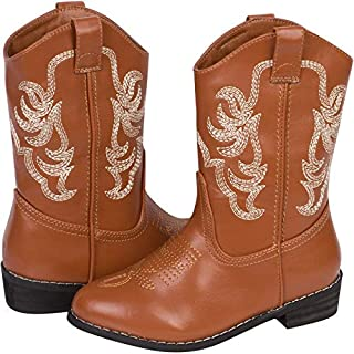 Wild Bear Boots Kids Cowboy Boots Girl and Boy Horseback Riding Boots