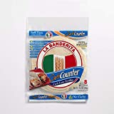 La Banderita® Carb Counter Flour Tortillas | 8' Size | 8 Count Each Pack | 4 Pack Case | *Taste the Tradition.
