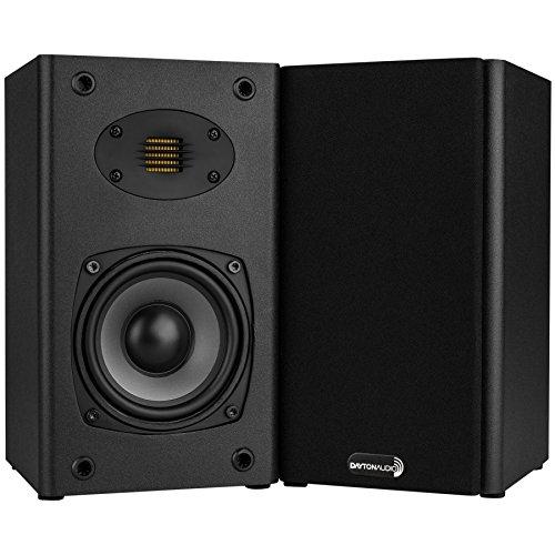 Dayton Audio B452-AIR 4-1/2' 2-Way Bookshelf Speaker Pair...
