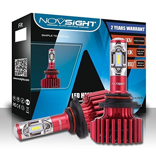 LED Phare Ampoules Tout-En-Un Kit De Conversio - Ampoules Réglables-Faisceau - 9005/9006/9007 / D1, Puces Extrêmement Brillantes CSP 60W 10000Lm - IP65 Blanc Lumineux 6500K Imperméable,9005