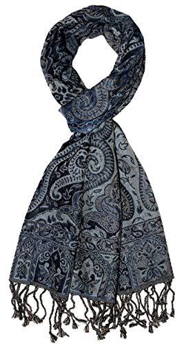 Lorenzo Cana - Herren Schal aus weicher Wolle vom Merinolamm Paisleymuster bunt mehrfarbig 35 cm x 160 cm Wollschal Wolltuch Herrenschal Männerschal 784001177