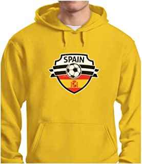 Tstars - Spain Soccer/Football Team Fans Hoodie