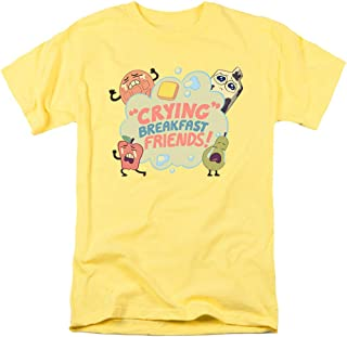 Popfunk Steven Universe Crying Breakfast Friends Cartoon Network T Shirt & Stickers