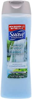 Suave Naturals Conditioner Refreshing Waterfall Mist 12 oz (Pack of 3)