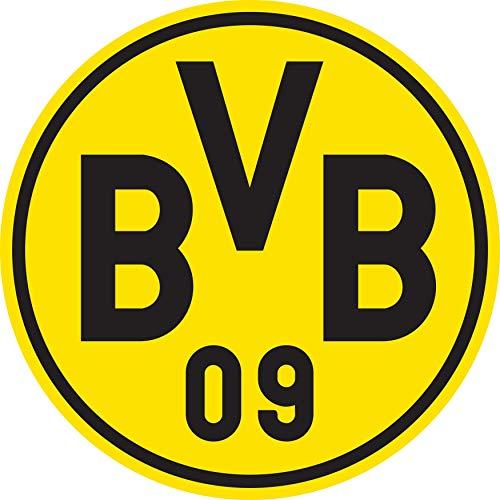 PUMA Uni T-shirt BVB HOME Replica SS Jr w/ Sponsor Logo w/ Opel, Cyber Yellow-Puma Black, 140, 757159