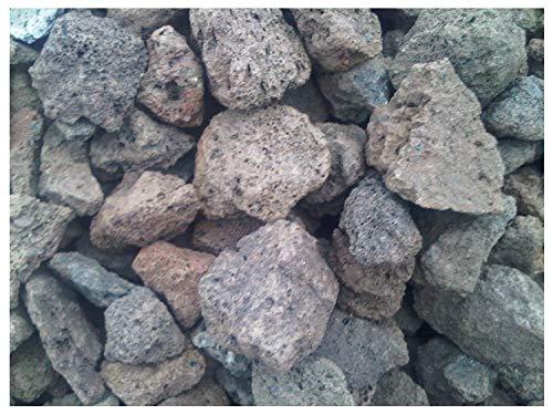 Der Naturstein Garten 25 kg Lava Steine 40-150 mm - Gasgrill Elektrogrill Lavastein Lavasteine Kies Kiesel Aquarium - Lieferung KOSTENLOS