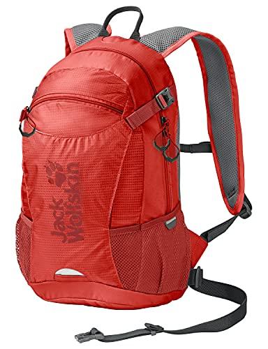 Jack Wolfskin 2004961 Unisex– Erwachsene Velocity 12 Rucksack, lava red, One Size