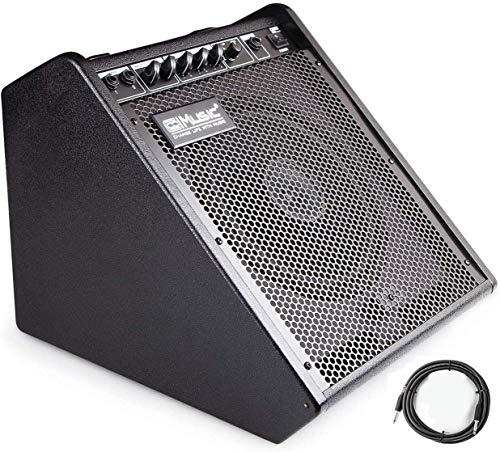 Coolmusic 100W Bluetooth Amplificador de monitor personal Amplificador de tambor eléctrico Altavoz,...
