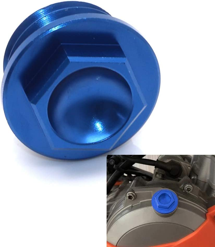1X Oil Filler Plug Cap Cover for125 150 250 300 350 400 450 500 525 530 SX SX-F EXC EXC-F XC XC-W XC-F XCF-W 03-2017 2018 2019 Blue