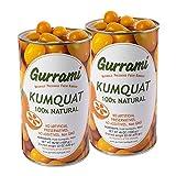 Kumquats Preservados de Gurrami (1.3KG X 2) – Kumquats Gourmet Conservados Naturalmente Con Sabor Auténtico y Exótico Para Cócteles y Muchos Platos- Fácil De Usar