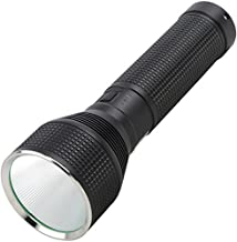 Nite Ize INOVA T10R Rechargeable Tactical LED Flashlight, 3500 Lumen Handheld Light with 14,000 mAh Power Bank for Charging Devices + Rugged Carrying Case