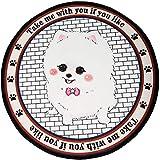 BYJHMB Cama Perro Four Seasons Universal Doghouse Dog Bed Large Small Dog Summer Pet Supplies-Little Fox Terrier_M (diámetro 60CM)