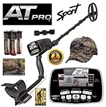 Garrett at Pro Metal Detector Holiday Special with 5x8 DD Coil and Camo Hat