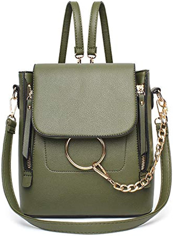 ASHIJIN Womens Backpacks for Women Multi-Purpose Backpacks Shoulder Messenger Corssbody Bag for Teenagers