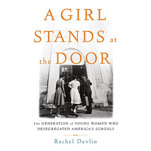 A Girl Stands at the Door audiobook cover art