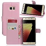Manyip Samsung Galaxy Note7 Hülle, PU Flip Leder Tasche