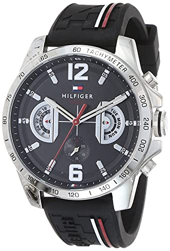 Tommy Hilfiger Analog Black Dial Men's Watch - TH1791473