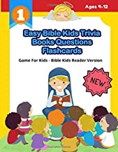 Easy Bible Kids Trivia Books Questions Flashcards Game For Kids - Bible Kids Reader Version: Awesome Catholic Christian holy bible infographics kids ... trivia challenge questions quiz with answers.
