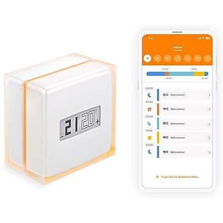 Intelligenter Thermostat Für Individuellen Kessel Netatmo By Starck Baumarkt