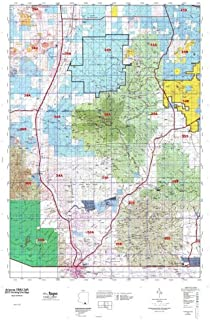 Arizona GMU 34A Hunt Area / Game Management Units (GMU) Map