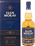 Glen Moray Elgin Heritage 18 Years Old Speyside Single Malt Scotch Whisky in Gift Box - 700 ml