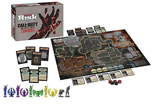 Risk Call of Duty Zombies Strategy Board Game | Classic Risk Game Based on Call of Duty Video Games