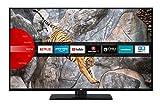 JVC LT-55V65LUA 140 cm / 55 Zoll Fernseher (Smart TV inkl. Prime Video / Netflix / YouTube, 4K UHD mit Dolby Vision HDR / HDR 10 + HLG, Triple Tuner)