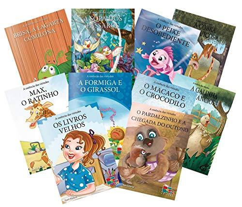 Coleção A Essência Das Virtudes 10 Livros