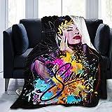 Shxjdthafa Selena Quintanilla Ultra-Soft Micro Fleece Blanket Throw Super Soft Blanket 60'x50'