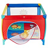 WJSW Adorable Safety Play Center Yard Portable Child Baby Infant Fence Playpen...