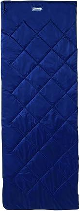 Coleman Schlafsack Durango - Saco de Dormir Rectangular para Acampada, Talla 210 x 80 x