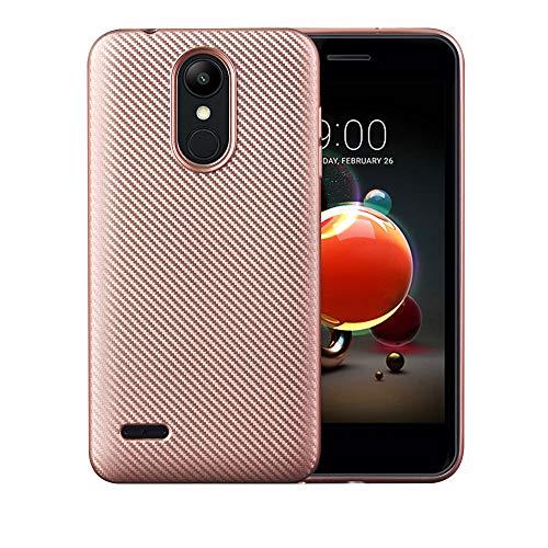 Case for LG K9 / LMX210EM K Series K9 2018 / LMX210CM Fortune 2 / K Series K8 2018 X210ULMG / X210ULM K Series K8+ 2018 Case TPU Silicone Soft Shell Cover Pink