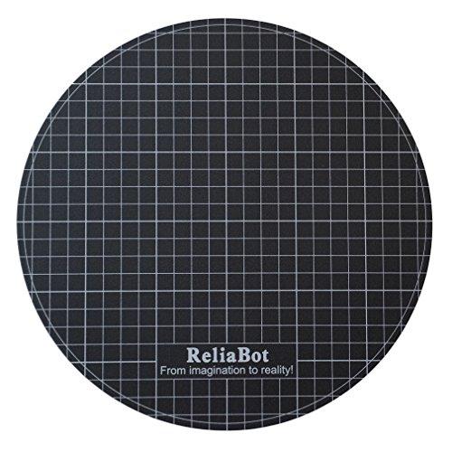 ReliaBot Heatbed Rotonda Costruire Superficie per Diametro 240mm Stampante 3D Piastra Rotonda (Adesivo Opaco)