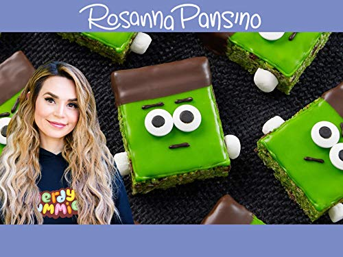 Rosanna's Monster Rice Crispy Treats!