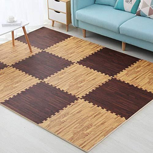 ZHI-HAN Dikke vloermat Moderne Panel Schuim Wasbaar Huishoudelijke Anti-shock Vloermat Vloerbescherming Mat Geschikte Slaapkamer Woonkamer
