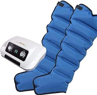 6 Air Chambers Leg Compression Massager Leg Wraps Foot Ankles Calf Massage Machine Relax Pain Relief Massagers Pneumatic A...