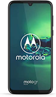 Moto G8 Plus - Unlocked - 64 GB - Cosmic Blue (No Warranty) - International Model (GSM Only)
