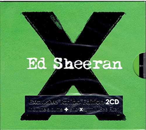 Ed Sheeran Exclusive Tchivo Edition 2 CD incl. the albums + and x with I see fire