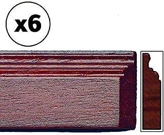 Melody Jane Puppenhaus Sockelleiste 18 x 5//8  Sockelleiste 457 x 15mm Unbehandeltes Holz