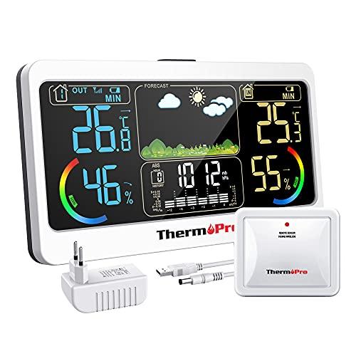 Estacion Meteorologica Oregon Sensor Marca ThermoPro