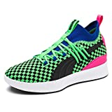 PUMA Mens Clyde Court Summertime Green Athletic Basketball Shoes 10