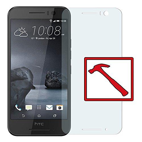 Slabo Premium Panzerglasfolie für HTC One S9 Echtglas Bildschirmschutzfolie Schutzfolie Folie Tempered Glass KLAR - 9H Hartglas