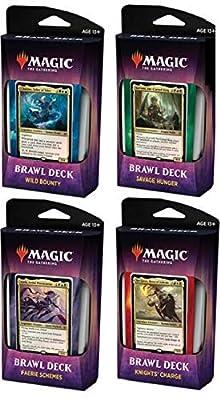 Magic The Gathering MTG Throne of Eldraine: All 4 Brawl Decks! by Wizards of the Coast