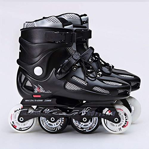 SXDQSZ RollschuheAdult Inline Skates Schuhe Rollschuhe Professionelle Freestyle Skating Frauen Männer Hochwertige Speed Skates Größe 35-44,39