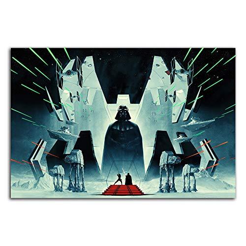 Star Wars The Empire Strikes Back - Impresión artística para decoración del hogar, sin marco, 91,4 x 60,9 cm