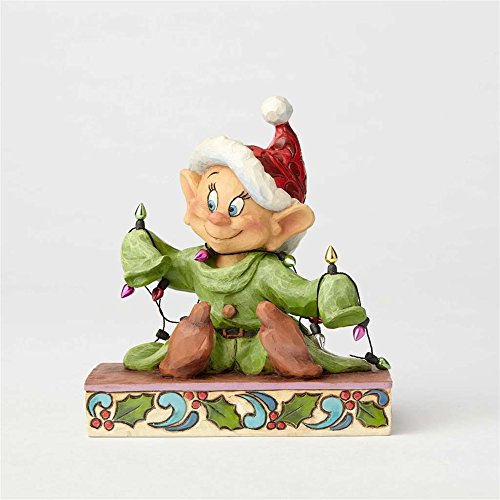 Disney Traditions Disney Traditions Light Up The Holidays - Dopey Figurine, Multi-Colour