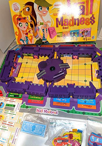 Milton Bradley Electronic Talking Mall Madness Game No. 04047 - 2005