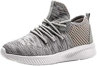 Dian Sen Kids' Sneakers Slip on Lightweigh Casual Athletic Walking Running Shoes for Boys Girls